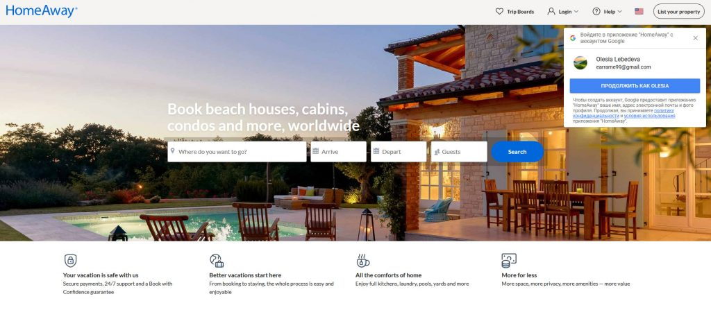 HomeAway/ Real Estate Affiliate Programs